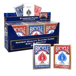 Bicycle Standard - karton 12 talii